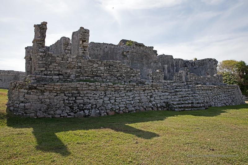 Tulum Ruins Edificio #1 Marked