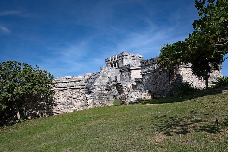 Tulum Ruins Edificio #5 Marked