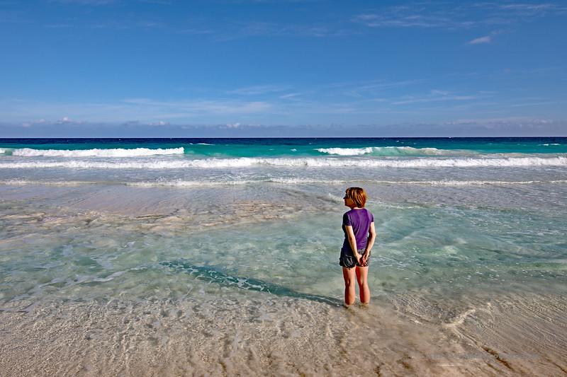 Tulum Coastline Heidi Contemplative Marked