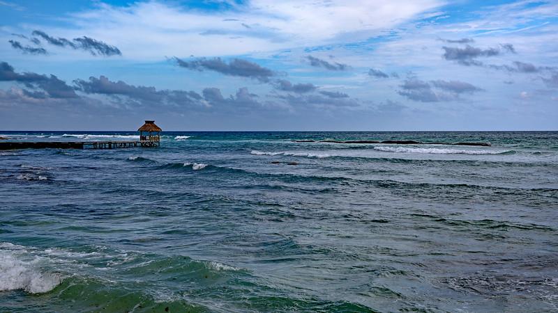 Riviera Maya Palapa Offset Wide Marked