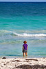 Tulum Coastline With Heidi Rear Vertical Marked