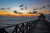 Riviera Maya Palapa Sunrise Offset Right Marked