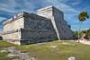 Tulum Ruins Edificio #6 Marked