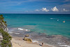 Tulum Ruins Beach #9 Marked