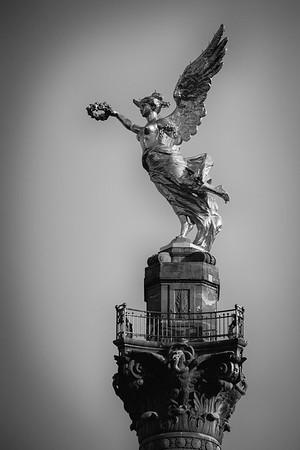 Mexico City - in  Black & White