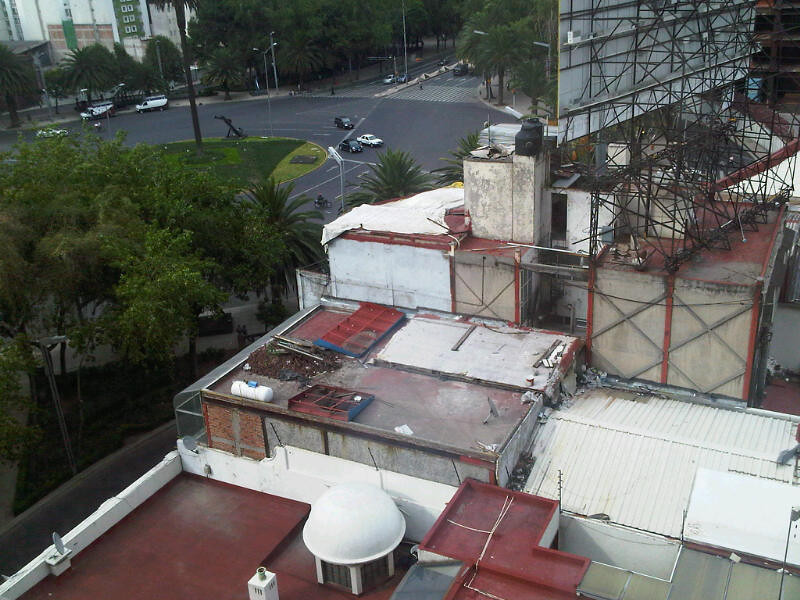 From my room at the Marriott Reforma