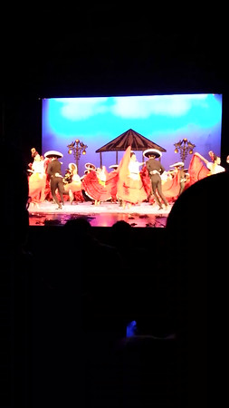 At the Ballet Folklorico