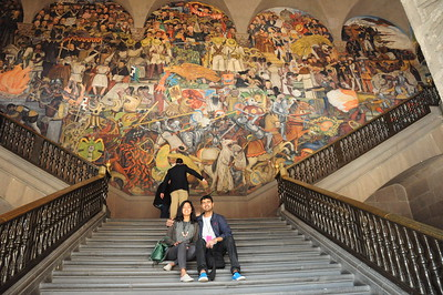 National Palace- Diego Rivera mural