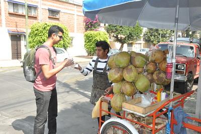 Coyoacan street vendors