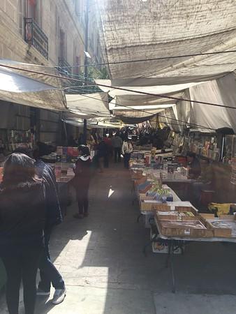 Book fair around Zocalo