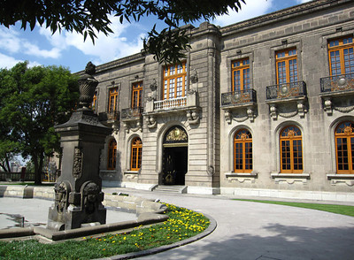 Castle Of Chapultepec Park, Mexico City