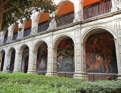 Murals Of Centro Historico, Mexico City