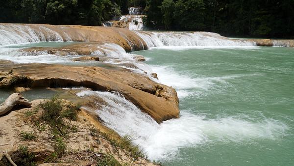 Tikal - Corozal- Palenque-Agua Azul