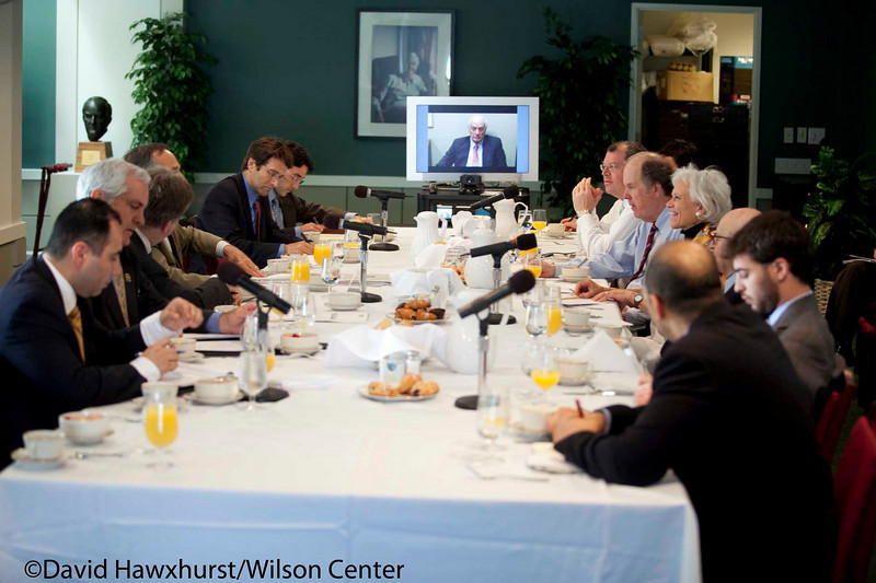 Private discussion with CBP Commissioner and DHS Assistant Secretary Alan Bersin<br /> <br /> Speaker(s): Alan Bersin