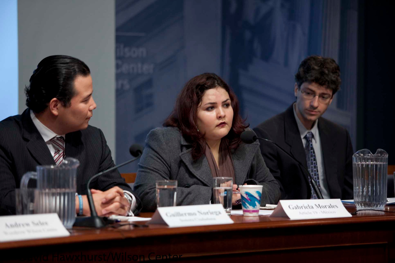 The Right To Information: Challenges and Opportunities in Mexico<br /> <br /> Speaker(s): Miguel Pulido, Guillermo Noriega, Kate Doyle, Andrew Selee