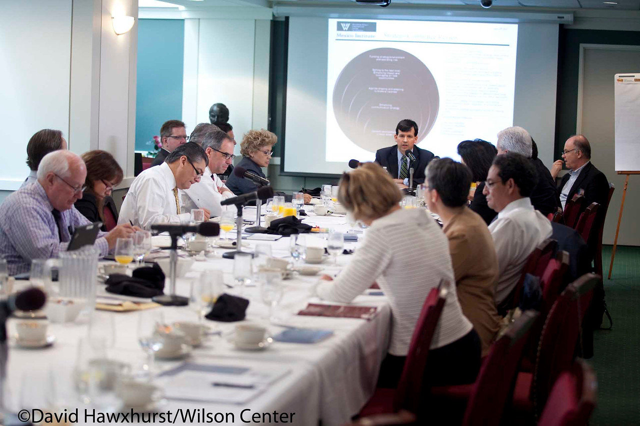 Mexico Institute Advisory Board Business Meeting