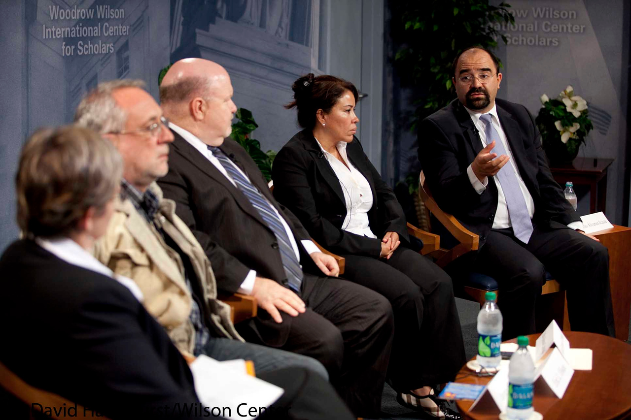 The Peace Movement in Mexico: Efforts to Bring Justice to the Victims of Violence in the Country<br /> <br /> Speaker(s): Javier Sicilia, Emilio Alvarez-Icazza, Eric Olson, Joy Olson