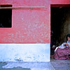 Mayan Woman Sewing, Antigua, Guatemala - Guatemala photography wall art