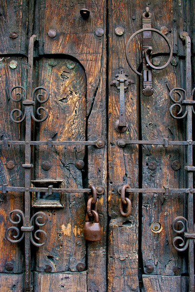 Conquistador Doorway, Guadalajara, Mexico - Mexico photography wall art