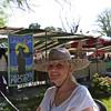 Pat, my airbnb hostess and new friend, at mercado organico.