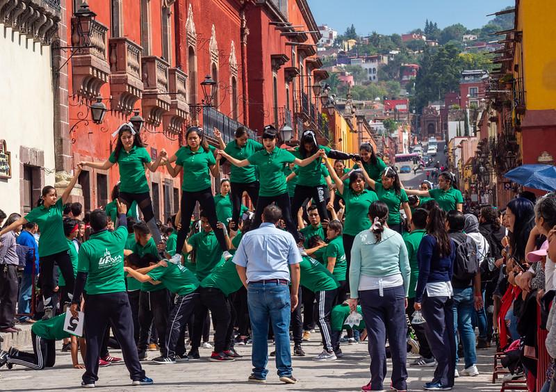 Revolution day in San Miguel de Allende