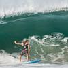 Surfer at Zicatela Beach, Puerto Eascondido