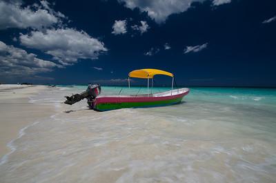 Snorkel Boat Playa Paraiso Tulum Mexico