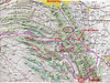 Our route (click on Original size & use the scroll for detailes), Aug 2006.  First night in Nuevo Laredo. Enter Cumbres de Monterrey park (is there really such a thing) from Los Lirios in the west, stay at Laguna de Sanchez 2 nights(?).  Next night in Mesa del Oso, after heavy rain.  Up La Cebolla as far as we dared, night in Rayones. Then out to Hwy 85, up to Cercado, Pto Genevevo to Portrero Redondo and Chipitin falls (2nights). Then the back way out of Portrero Redondo to Trinidad, and finally Raices/Allende, up to Santiago for our last night.
