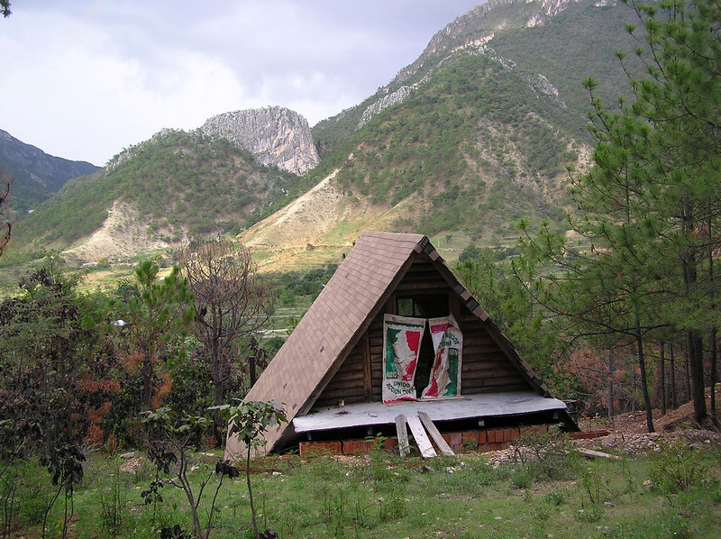 private cabana, work in progress, Laguna de Sanchez