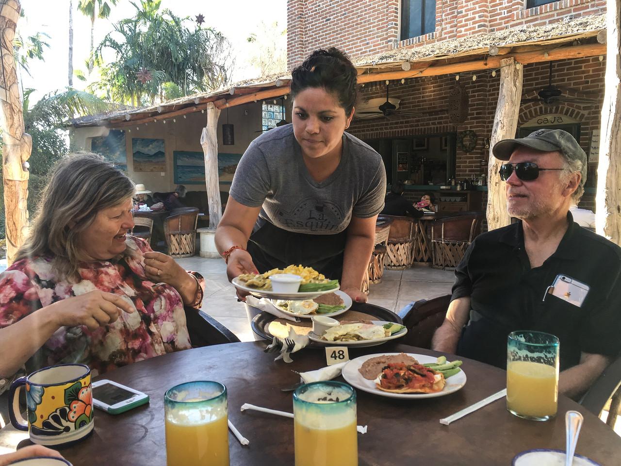 Breakfast at La Esquina