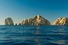 Off shore rocks at Lands End near Cabo San Lucas, Baja California Sur, Mexico.