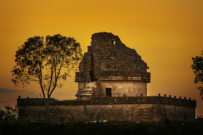 The Observatory - Chichen Itza, Yucutan, Mexico
