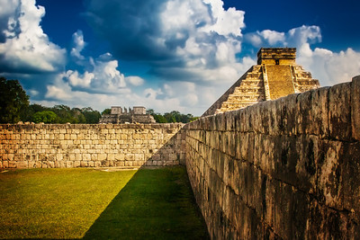 "The ""Ball Court"" - Chichen Itza, Yucutan, Mexico"