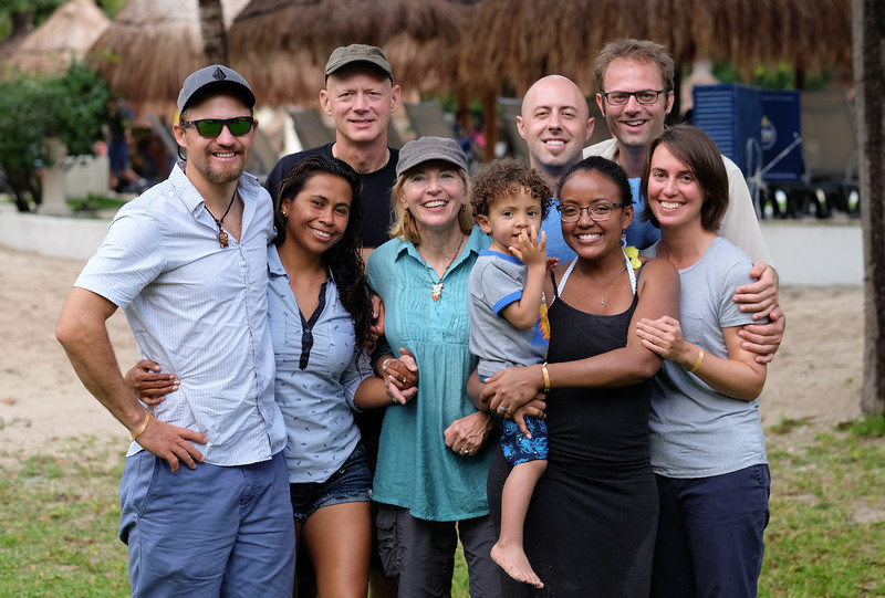 Family christmas on Cozumel