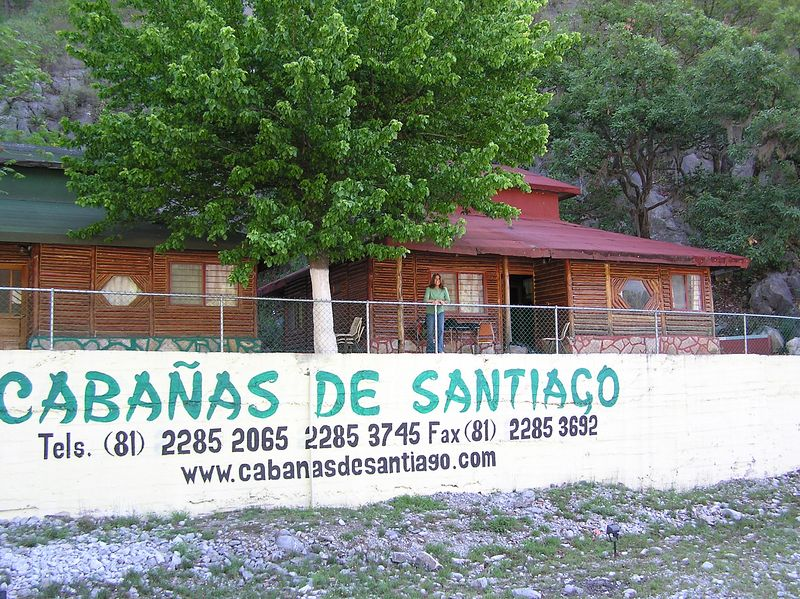 Cabanas de Santiago in the community of Cienega