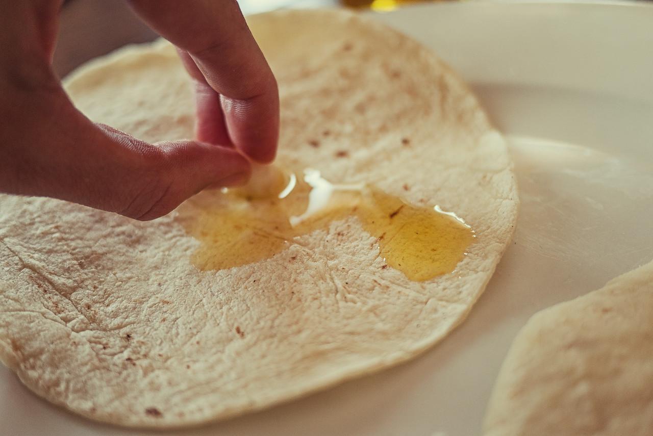 Garlic tortillas