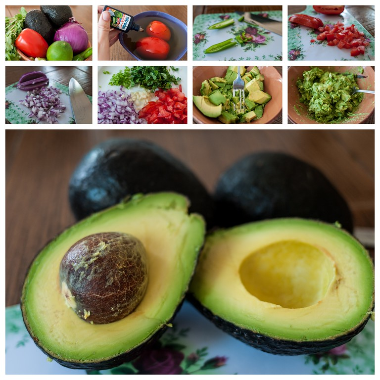 Perfect guacamole recipe