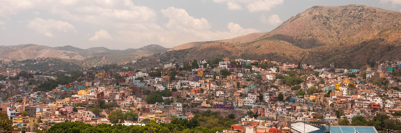 The pretty colonial town of Guajuanto, Mexico.