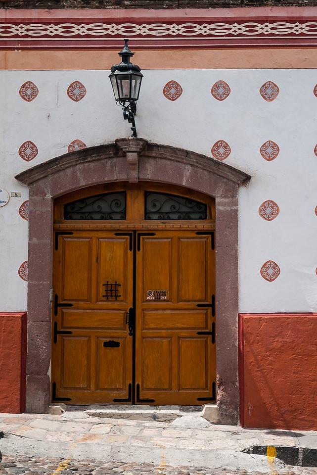 The pretty colonial town of Guajuanto, Mexico.
