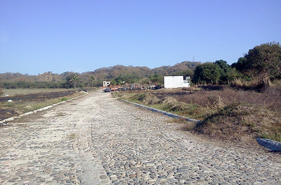 Site for Hybrid Home Construction in Mexico
