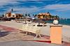 Sculptures along the Malecon in La Paz, Baja California Sur, Mexico.