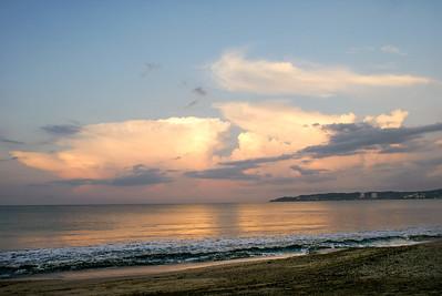 Pink Creamy Clouds Bucerias Beach, Mexico - 2