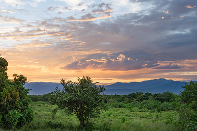 Dramatic Dawn and the Sierra Madre Occidental, Mexico