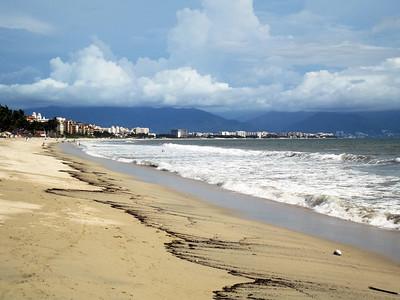 Nueva Vallarta from Bucerias Beach