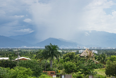 Column of Rain over Puerto Vallarta, Mexico