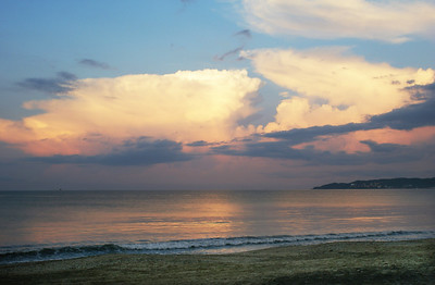 Pink Creamy Clouds Bucerias Beach, Mexico - 1
