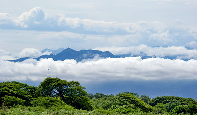 Sierra Madre Occidental Mountains with Low Cloud