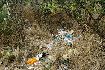 Rubbish Strewn in Environment, Mexico
