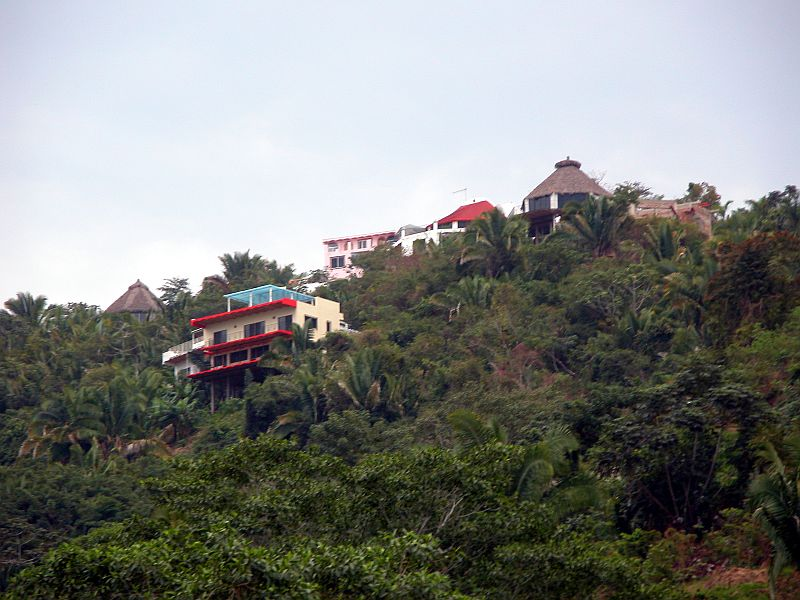 hillside houses 1