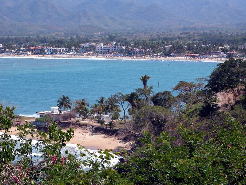 Guayabitos from Los Ayala hilltop